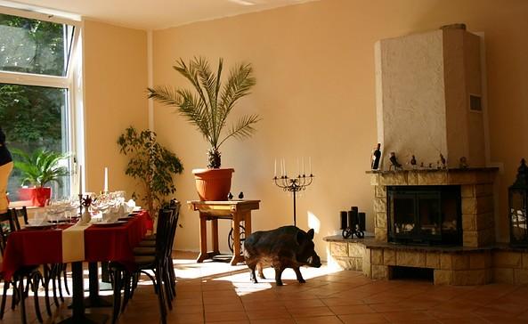 Gastraum im Wilden Eber, Foto: Hotel & Restaurant Wilder Eber