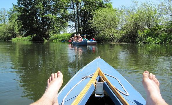 Treiben auf der Spree, Foto: Tourismusverband Seenland Oder-Spree e.V.