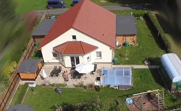Ferienhaus Hübner - Vogelperspektive, Foto: Hübner