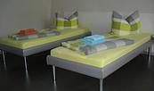 Zimmer mit zwei Einzelbetten, Foto: Göller Business & Service UG