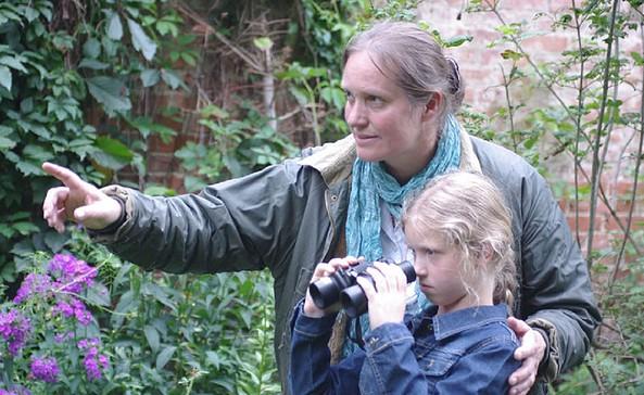 Wanderungen mit Carina Vogel, Foto: Wysent Umweltbildung und Naturgenuss