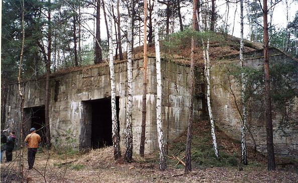Geschossfangkorb, Foto: Denkmalschutzbehörde Landkreis Teltow-Fläming