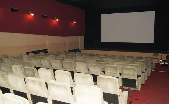 Filmtheater Union von innen in Fürstenwalde/Spree