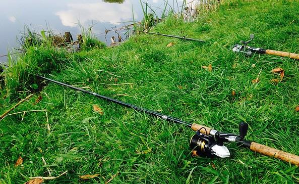 Angelruten, Foto: Seenland Oder-Spree/Ellen Rußig