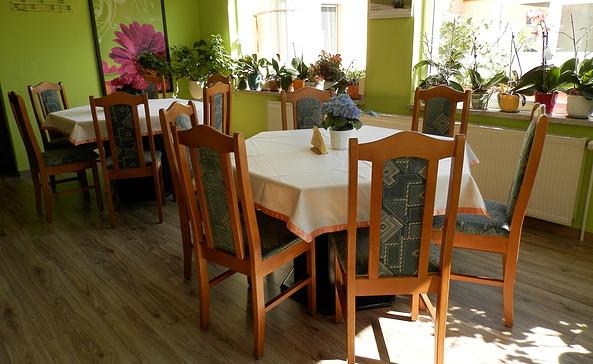 Frühstücksraum in der Pension Volgmann, Foto: Thomas Volgmann