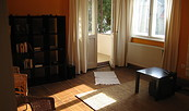 Wohnzimmer der Ferienwohnung Altenhof, Foto: Fam. Kaminski