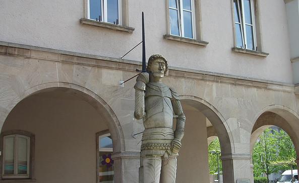 Der Roland von Prenzlau, Foto: terra press Berlin