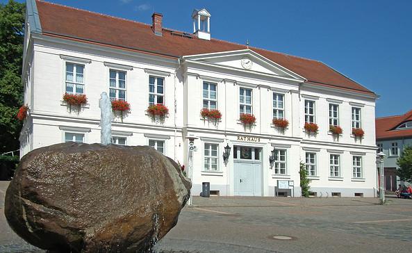 Das Rathaus in Pritzwalk, Foto: terra press Berlin