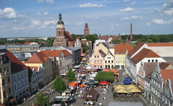 Altstadtmarkt Cottbus, Foto: Katrin Hellmann