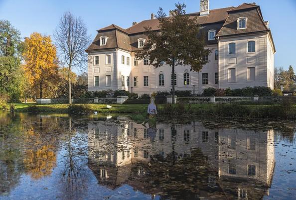 Schloss Branitz im Herbst, Foto: TMB-Fotoarchiv/Steffen Lehmann