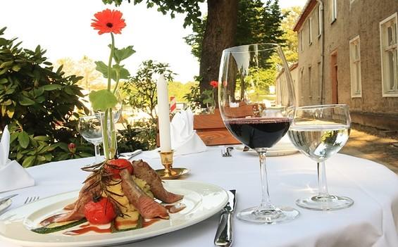 """Restaurant im Hotel """"Der Seehof Rheinsberg"""""""