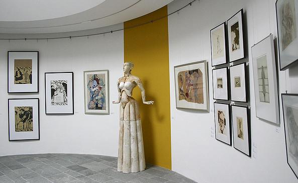 Blick in die Ausstellung, Foto: Paul-Wunderlich-Stiftung