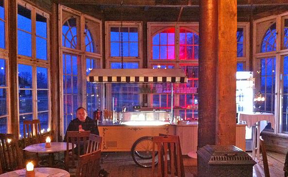 Im Schwantener Eis-Pavillon, Foto: terra press Berlin