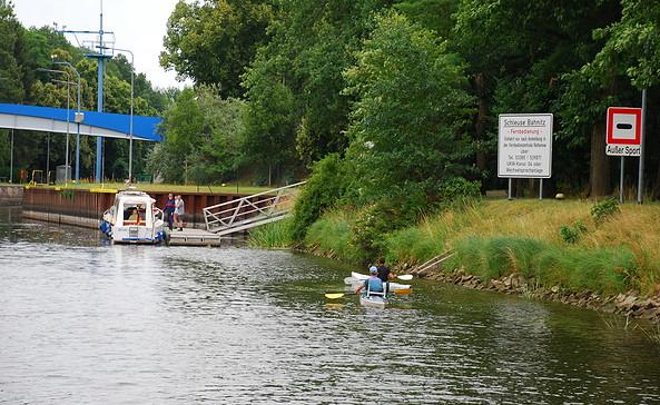 Schleuse Bahnitz, Foto: Tourismusverband Havelland e.V.