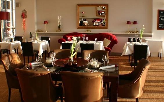 """Restaurant im Hotel """"Seeterrassen"""" Wandlitz"""