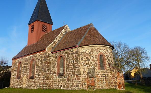 Dorfkirche Mellnsdorf, Foto: Landkreis Teltow-Fläming