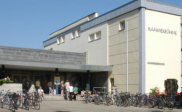 Kammerbühne Cottbus Außenansicht. Foto: Marlies Kross