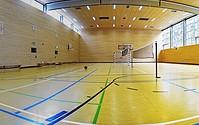 Sporthalle im Jugendbildungszentrum Blossin