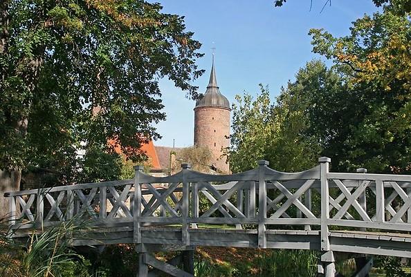 Der Rote Turm. Foto: Stadt Luckau