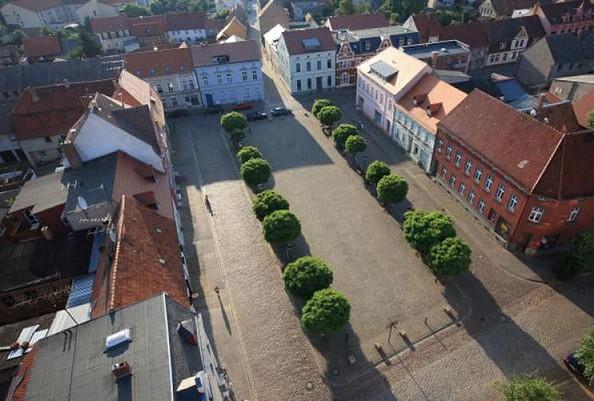 Historischer Stadtkern Dahme/Mark, Foto: Juergen Hohmuth