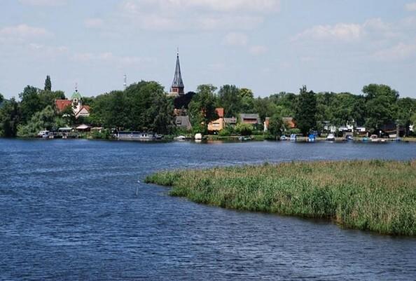 Blick über die Havel auf Geltow, Foto: Schwielowsee-Tourismus e.V.