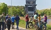 Unterwegs auf dem Treidelweg, Foto: WITO Barnim, Jürgen Rocholl