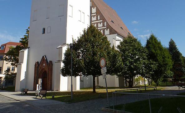 Außenansicht Johanneskirche, Foto: Johanneskirche