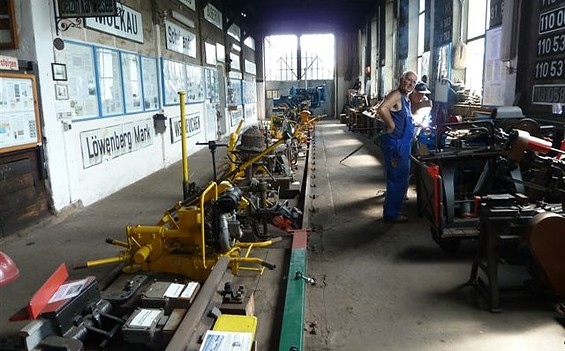 Eisenbahnmuseum Rheinsberg