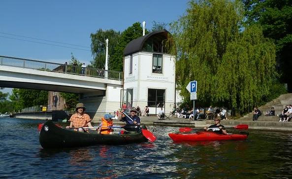 Familienkanutour © Wassersportzentrum Alte Feuerwache