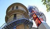 Aussichtsplattform BIORAMA-Projekt, Foto: TMB-Fotoarchiv/Regina Zibell