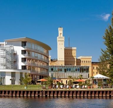 """Restaurant """"Weinwirtschaft"""" im arcona Hotel am Havelufer Potsdam"""