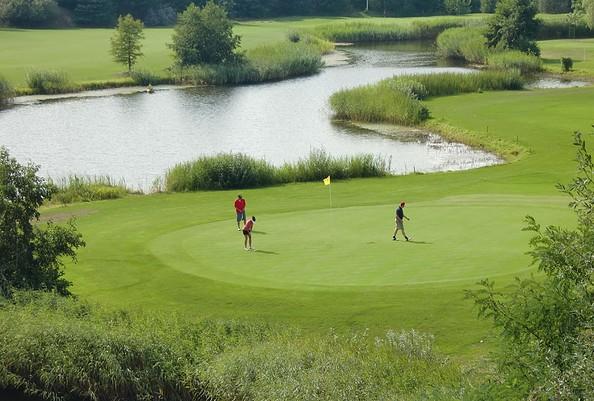 ehemalige Kiesgrube, Foto: Berliner Golf Club Gatow e.V.