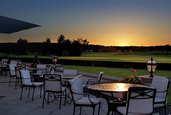 Terrasse, Foto: Golf- & Country Club Seddiner See e.V.