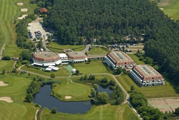 Luftaufnahme, Foto: GolfResort Semlin am See
