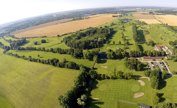 Luftbild, Potsdamer Golf-Club e.V.