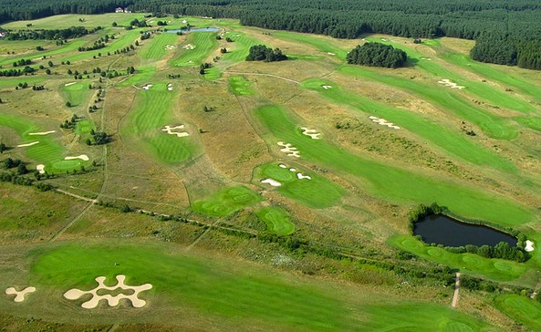 Luftbild, Foto: Golfpark Berlin Prenden
