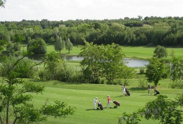 Blick auf Bahn 6 und 7, Foto: Berliner Golf Club Gatow e.V.