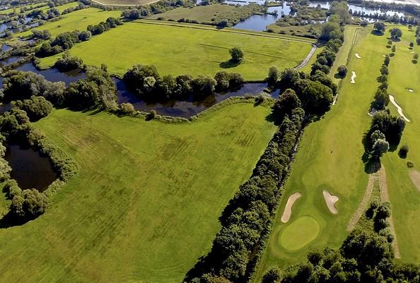 Luftbild, Foto: Potsdamer Golf-Club e.V.