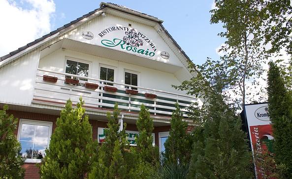 "Ristorante-Pizzeria ""Rosaio"" in Schöneiche, Foto: Alexandra Pohnke"
