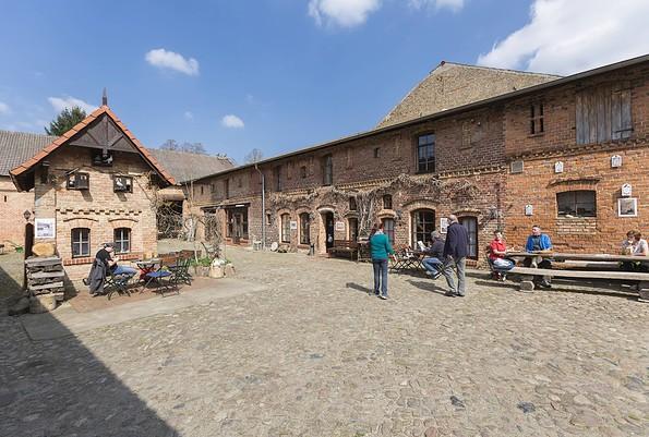 Innenhof des gasthof Moritz, Foto: TMB-Fotoarchiv/Steffen Lehmann