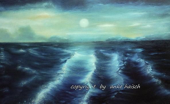 Öl- und Aquarellmalerei Anke Heisch, Foto: Anke Heisch