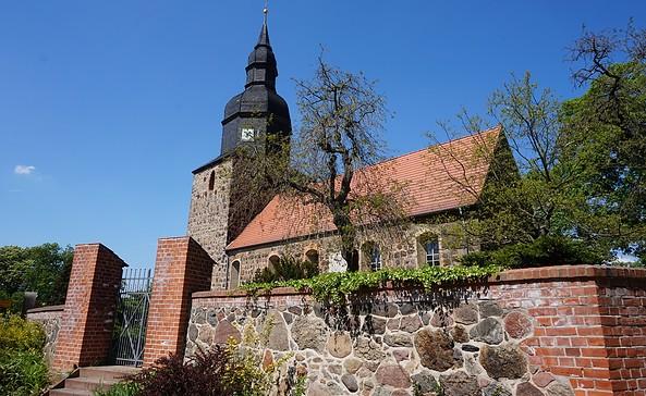 Die Kirche in Dennewitz, Foto: Tourismusverband Fläming e.V.