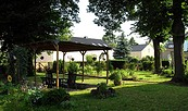 Ferienwohnung Ebel - Blick in den Garten, Foto: Familie Ebel