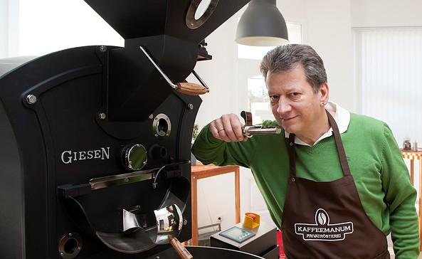 KAFFEEMANUM - Privatrösterei, Foto: Volker Behrendt