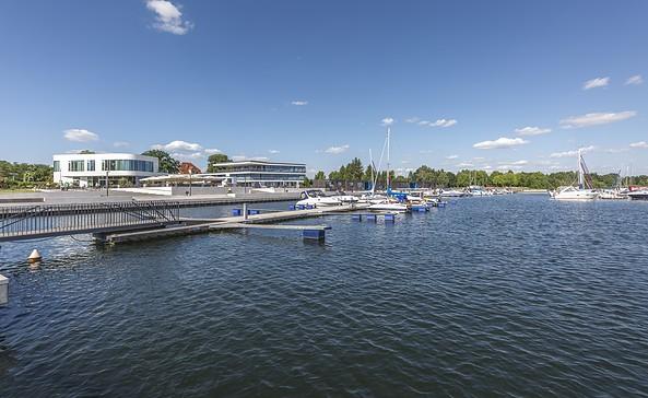 Stadthafen Senftenberg, Foto: TMB-Fotoarchiv/Steffen Lehmann