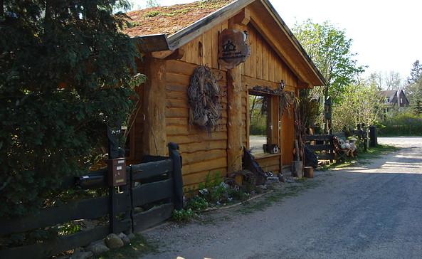 Kunst- und Geschenkehütte Waldsieversdorf, Foto: Annett Rietz