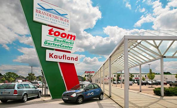 Brandenburger Einkaufszentrum Wust, Foto: mfi