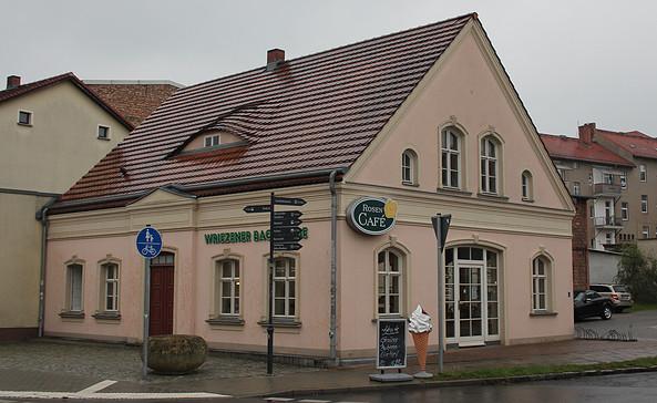 Rosen-Cafe in Bad Freienwalde, Foto: Katrin Riegel