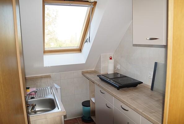 Ferienwohnung zur Kastanie - Küche, Foto: Giard