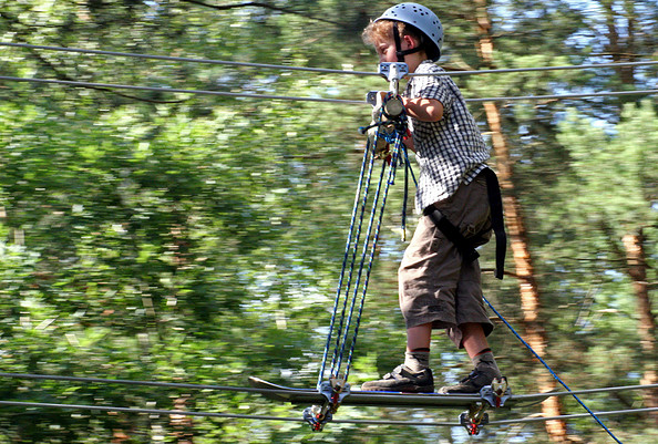 CLIMB UP! - Kletterwald ® - Per Skateboard von Baum zu Baum